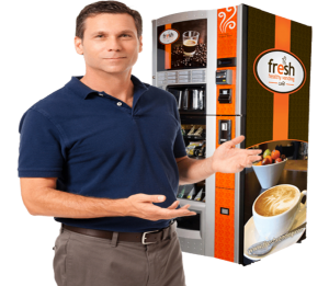 Guy with Fresh Cafe